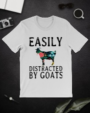 Cow easily distracted by goats Classic T-Shirt lifestyle-mens-crewneck-front-16