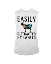 Cow easily distracted by goats Sleeveless Tee thumbnail