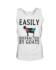 Cow easily distracted by goats Unisex Tank thumbnail