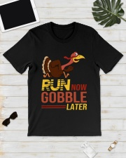 Run now gobble later Premium Fit Mens Tee lifestyle-mens-crewneck-front-17
