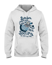 Soft dalek warm dalek little ball of hate happy Hooded Sweatshirt thumbnail
