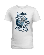 Soft dalek warm dalek little ball of hate happy Ladies T-Shirt thumbnail