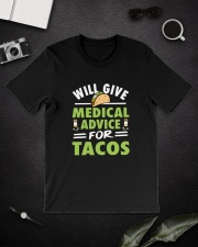 Will give medical advice for tacos Classic T-Shirt lifestyle-mens-crewneck-front-16