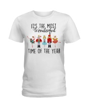 It's the most wonderful time of the year  Ladies T-Shirt front