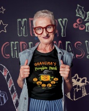 Grandma's pumpkin patch Hazel Mike Thomas shirt Ladies T-Shirt lifestyle-holiday-crewneck-front-3