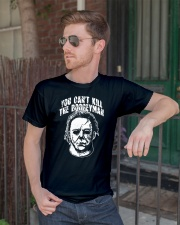 you cant kill the boogeyman Classic T-Shirt lifestyle-mens-crewneck-front-2