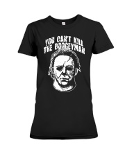 you cant kill the boogeyman Premium Fit Ladies Tee thumbnail