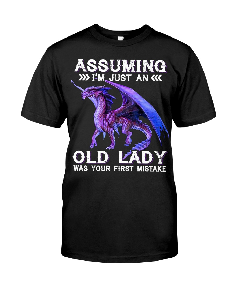 Dragon assuming i'm just an old lady was your firs Premium Fit Mens Tee