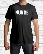 Nurse no one fights alone Classic T-Shirt lifestyle-mens-crewneck-front-1