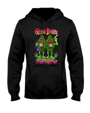 Pot Marijuana Good Buds Stick Together Hooded Sweatshirt thumbnail