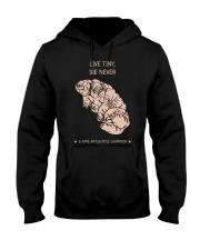 Live tiny die never time apocalypse champion Hooded Sweatshirt thumbnail