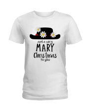 And a very mary Christmas to you  Ladies T-Shirt front