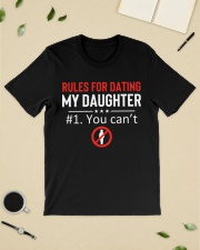 Rules for dating my daughter 1you can't Premium Fit Mens Tee lifestyle-mens-crewneck-front-19