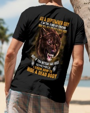 Wolf as a september guy Classic T-Shirt lifestyle-mens-crewneck-back-4