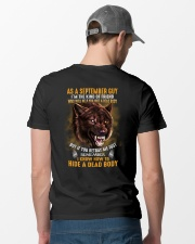 Wolf as a september guy Classic T-Shirt lifestyle-mens-crewneck-back-6