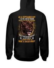 Wolf as a september guy Hooded Sweatshirt thumbnail