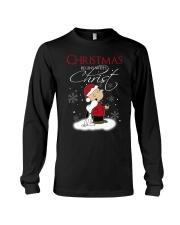 Christmas begins with Christ Long Sleeve Tee thumbnail