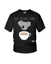 Koala Tea puns shirt hoodie tank top Youth T-Shirt tile