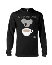 Koala Tea puns shirt hoodie tank top Long Sleeve Tee tile