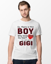 So there is this boy who kinda stole my heart red  Classic T-Shirt lifestyle-mens-crewneck-front-15