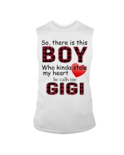 So there is this boy who kinda stole my heart red  Sleeveless Tee thumbnail