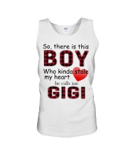 So there is this boy who kinda stole my heart red  Unisex Tank thumbnail