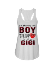 So there is this boy who kinda stole my heart red  Ladies Flowy Tank thumbnail
