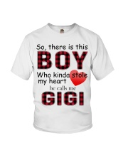 So there is this boy who kinda stole my heart red  Youth T-Shirt thumbnail