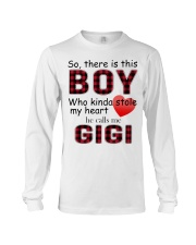 So there is this boy who kinda stole my heart red  Long Sleeve Tee thumbnail