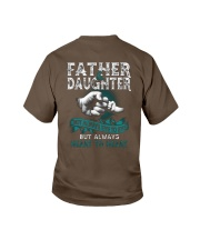 Father and daughter not always eye to eye Youth T-Shirt thumbnail