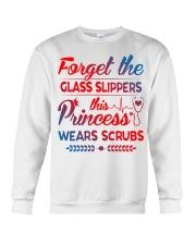 Forget the glass slippers this princess wears scru Crewneck Sweatshirt thumbnail