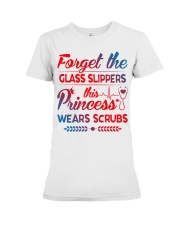 Forget the glass slippers this princess wears scru Premium Fit Ladies Tee thumbnail