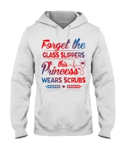 Forget the glass slippers this princess wears scru Hooded Sweatshirt thumbnail