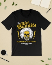 The wet bandits plumbing and electrical new york Premium Fit Mens Tee lifestyle-mens-crewneck-front-19