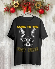 Come to the cat side shirt Classic T-Shirt lifestyle-holiday-crewneck-front-2