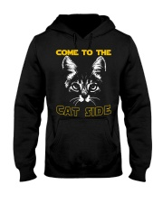 Come to the cat side shirt Hooded Sweatshirt thumbnail