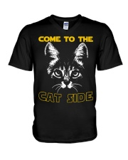 Come to the cat side shirt V-Neck T-Shirt thumbnail