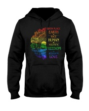Buddha birth place earth race human politics freed Hooded Sweatshirt thumbnail