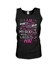 I am the daughter of a king who is not moved  Unisex Tank thumbnail
