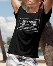 Light armor boobs legendary armor 999 weight 99999 Classic T-Shirt lifestyle-mens-crewneck-front-9