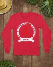 Gift for Marc Long Sleeve Tee lifestyle-unisex-longsleeve-front-7