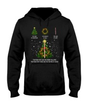The tree of christmas the wreath of holly the cane Hooded Sweatshirt thumbnail