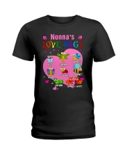 Nonna's love bugs Ladies T-Shirt front