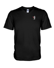 Bartender I was once a polite and well-mannered V-Neck T-Shirt thumbnail