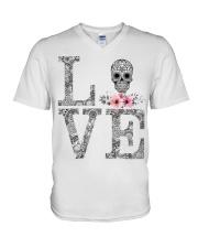 Cool t-shirt V-Neck T-Shirt thumbnail