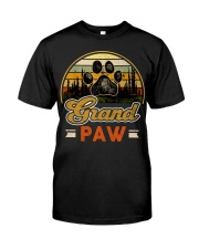 Grand paw dog lover Vintage  Premium Fit Mens Tee front