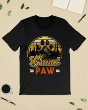 Grand paw dog lover Vintage  Premium Fit Mens Tee lifestyle-mens-crewneck-front-19
