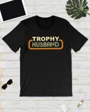 Trophy husband Premium Fit Mens Tee lifestyle-mens-crewneck-front-17