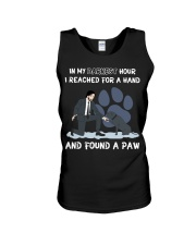 In my darkest hour I reached for a hand Unisex Tank thumbnail