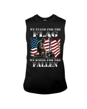 Veteran we stand for the flag we kneel for the fal Sleeveless Tee thumbnail